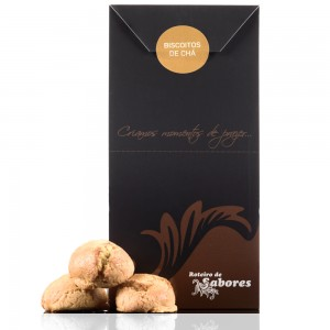 Biscoitos de Chá 160 g Roteiro de Sabores