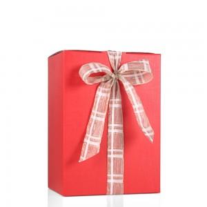 Caixa Cabaz Natal Vermelha